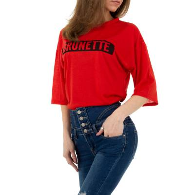 T-Shirt für Damen in Rot