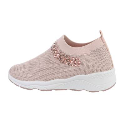 Sneakers Low für Damen in Altrosa