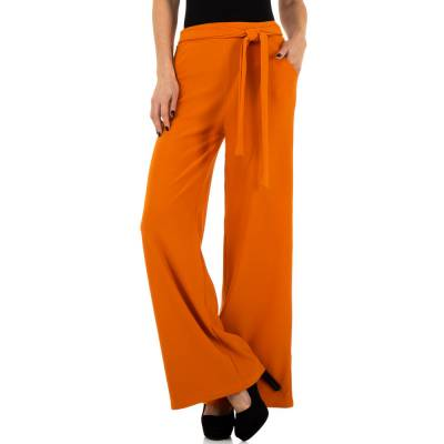 Stoffhose für Damen in Orange