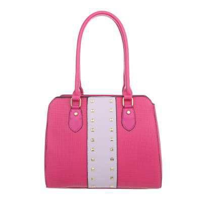 Mittelgroße Damen Tasche Pink Lila