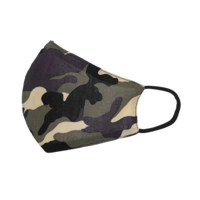 Verstellbare Gesichtsmaske Mundschutz Maske Khaki