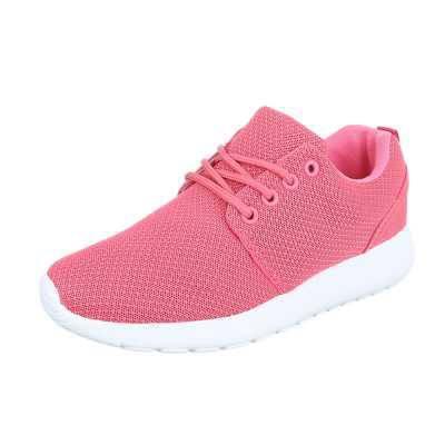 Sneakers low für Damen in Rosa