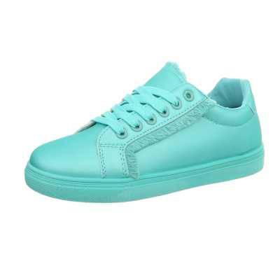 Sneakers low für Damen in Blau und Türkis