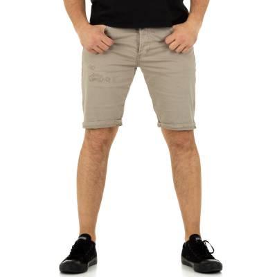 Shorts für Herren in Beige