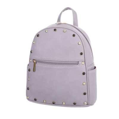 Kleine Damen Tasche Grau Lila