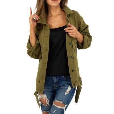 Jeansjacke für Damen in Braun