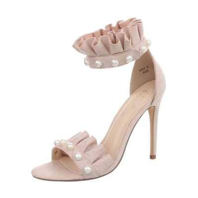 High Heel Sandaletten für Damen in Rosa