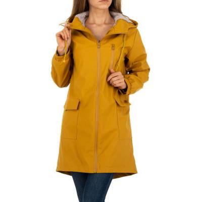 Kurzmantel für Damen in Gelb