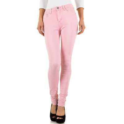 Skinny Jeans für Damen in Rosa