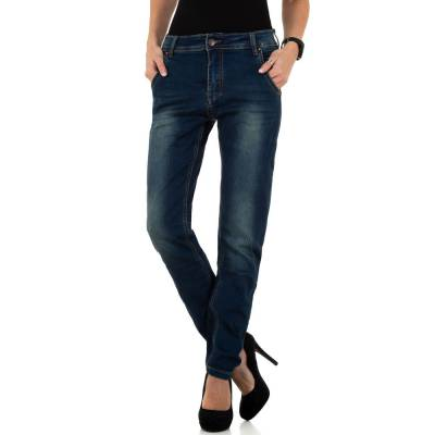 Straight Leg Jeans für Damen in Blau
