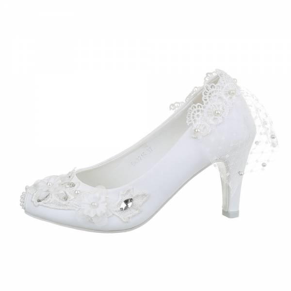 High Heel Pumps für Damen in Weiß