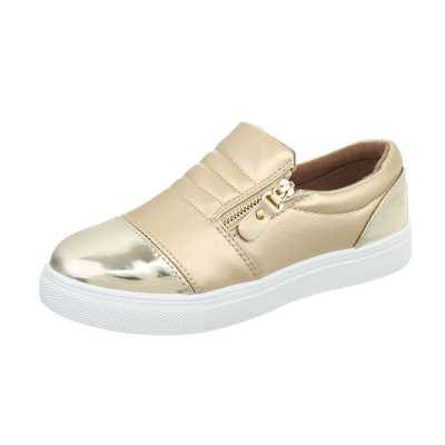 Sneakers low für Damen in Gold