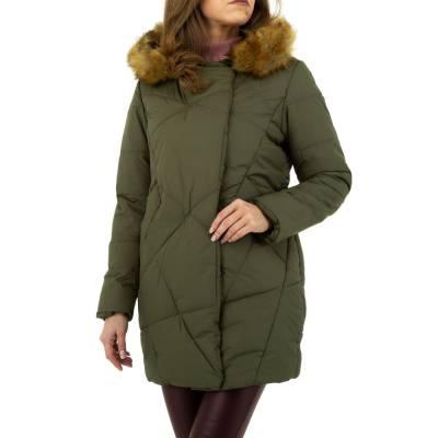 Winterjacke für Damen in Grün