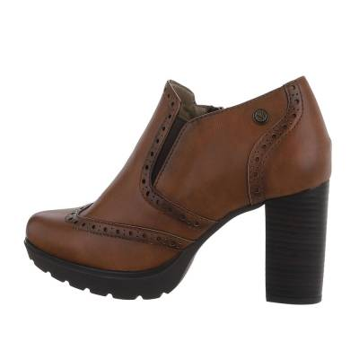 Ankle Boots für Damen in Braun