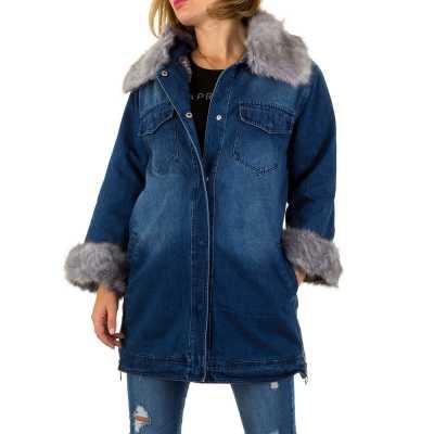 Mantel für Damen in Blau