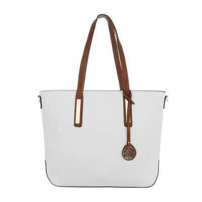 Große Damen Tasche Weiß