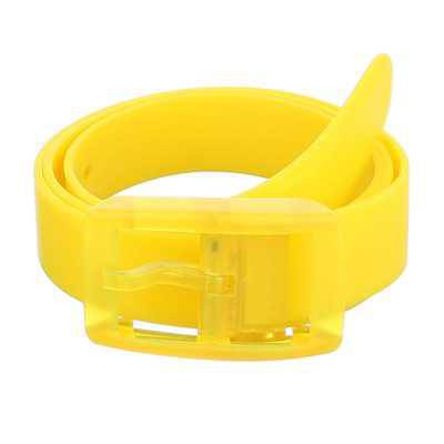 Moderner Damen Gürtel Gelb
