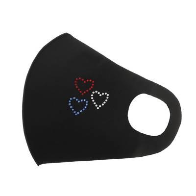 Gesichtsmaske Mundschutz Maske Schwarz
