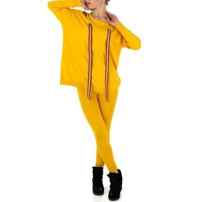 Zweiteiler für Damen in Gelb