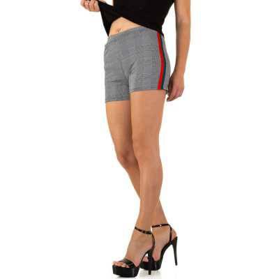 Hotpants für Damen in Grau