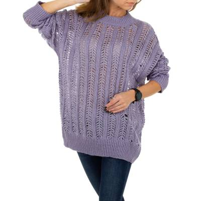Pullover & Strick für Damen in Lila