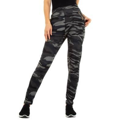 Boyfriend-Hose für Damen in Grau und Camouflage