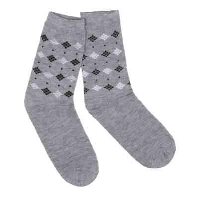 12 Paar Herren Socken Hellgrau