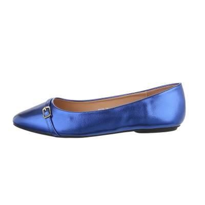 Klassische Ballerinas für Damen in Blau