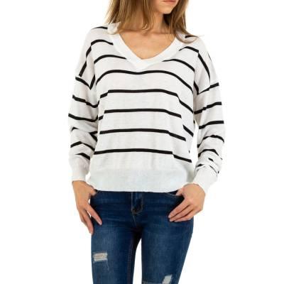 Sweatshirt für Damen in Weiß