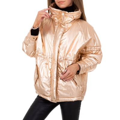 Winterjacke für Damen in Gold
