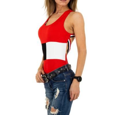 Body für Damen in Rot