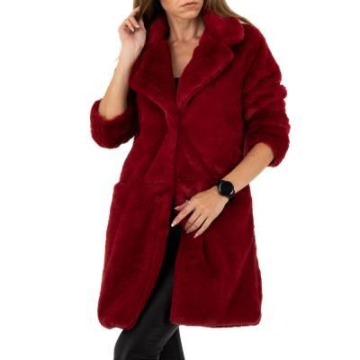 Kurzmantel für Damen in Rot