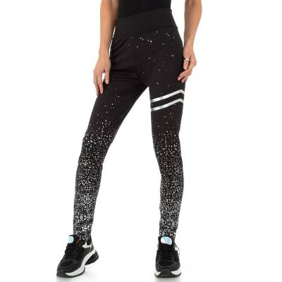 Sportleggings für Damen in Schwarz