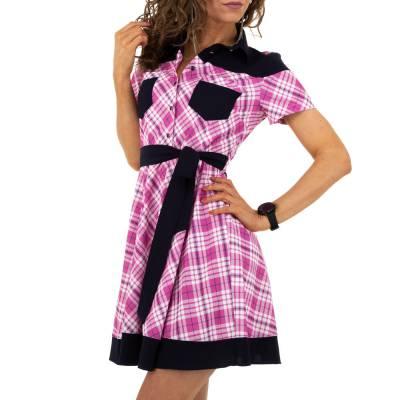 Blusenkleid für Damen in Lila