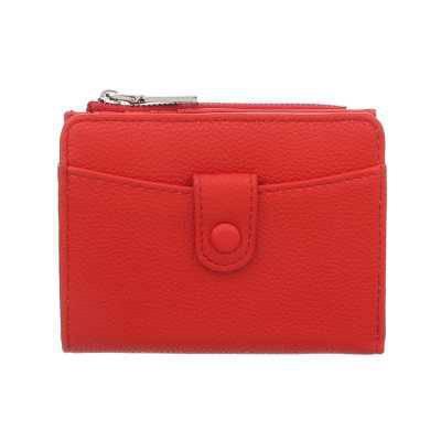 Portemonnaie Damen Geldbörse Rot