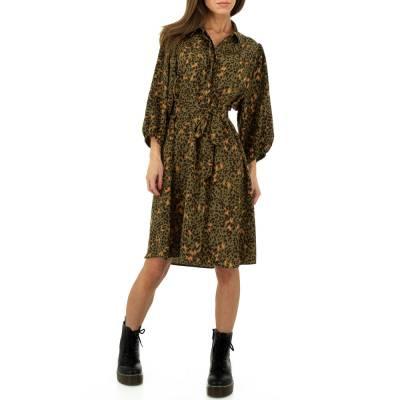 Blusenkleid für Damen in Braun