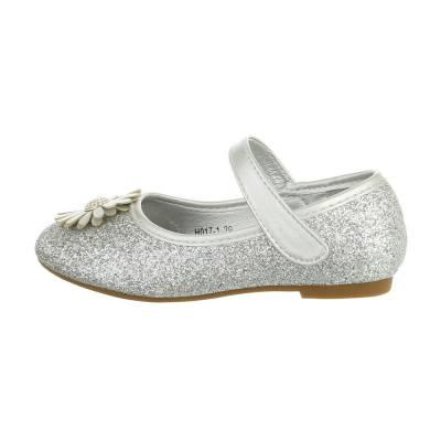 Mädchen Kinder Sandalen Silber