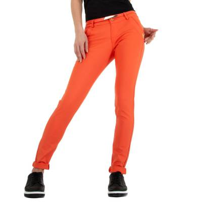 Skinny-Hose für Damen in Orange