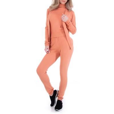 Zweiteiler für Damen in Orange