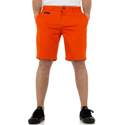 Shorts für Herren in Orange