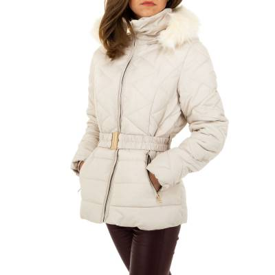 Winterjacke für Damen in Beige