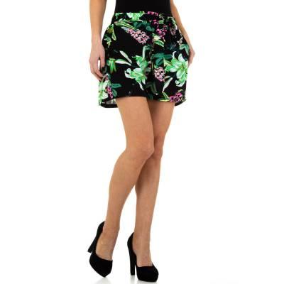 High Waist Shorts für Damen in Grün