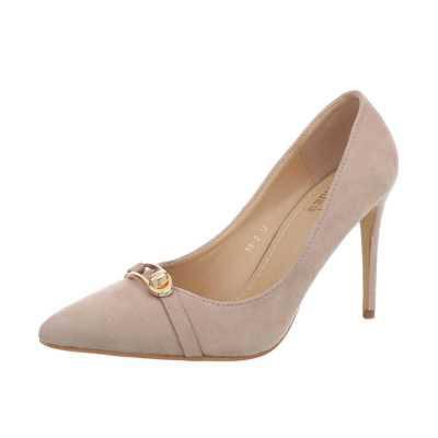 High Heel Pumps für Damen in Beige und Rosa