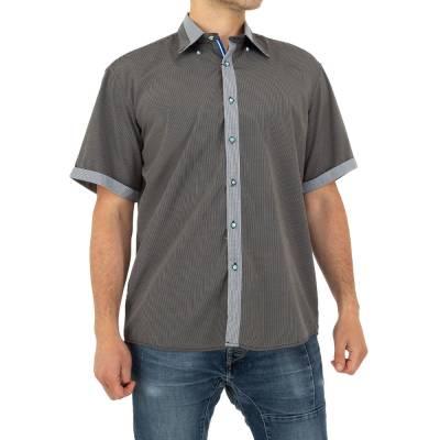 Hemd für Herren in Grau