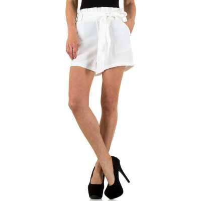 Freizeitshorts für Damen in Weiß
