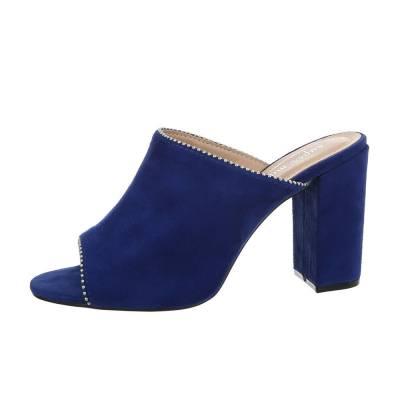 Pantoletten für Damen in Blau