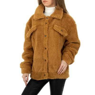 Übergangsjacke für Damen in Braun