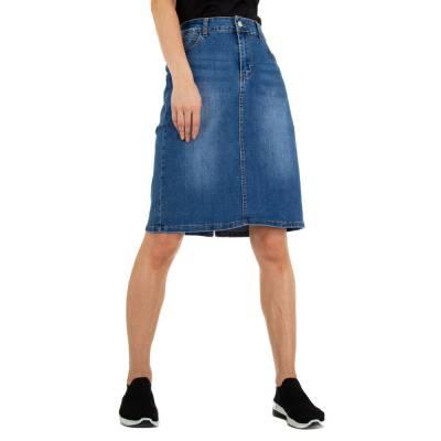 Stretchrock für Damen in Blau