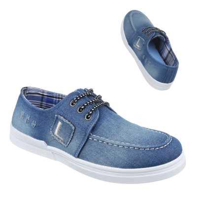 Halbschuhe für Herren in Blau