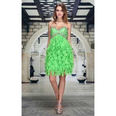 Abendkleid für Damen in Grün